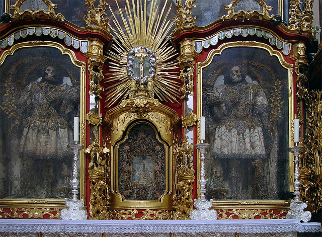 The Skeletons of Waldsassen Basilica