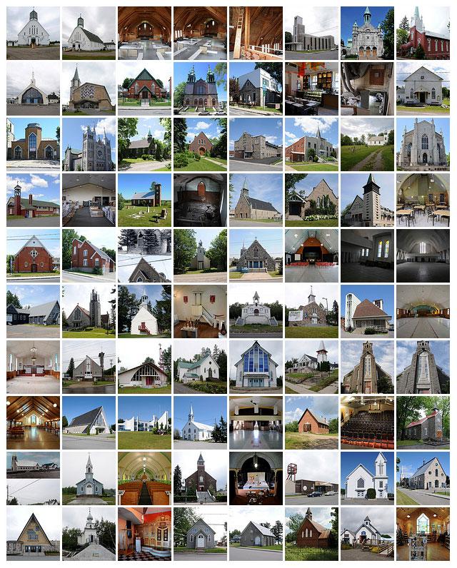 Églises converties du Québec