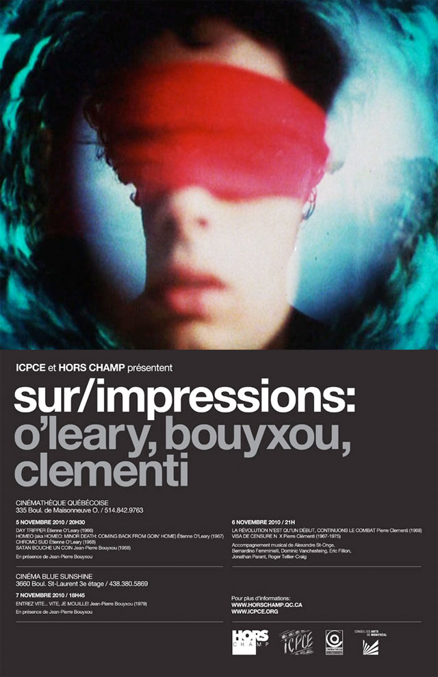 SUR/IMPRESSIONS: O'LEARY, CLÉMENTI, BOUYXOU