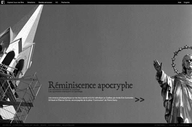 Réminiscence apocryphe