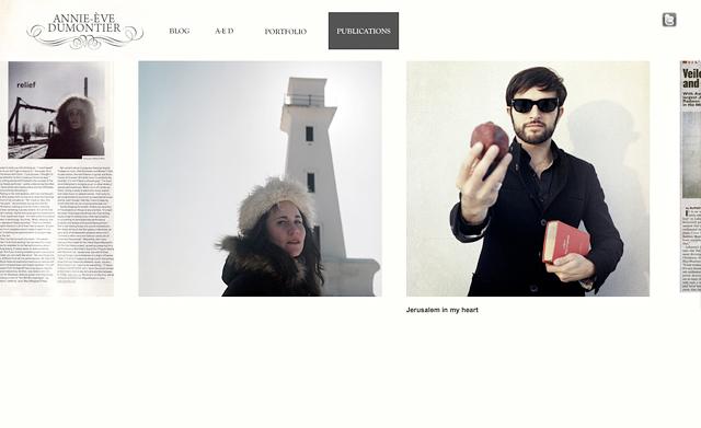 ANNIE-ÈVE DUMONTIER / annie-eve.com