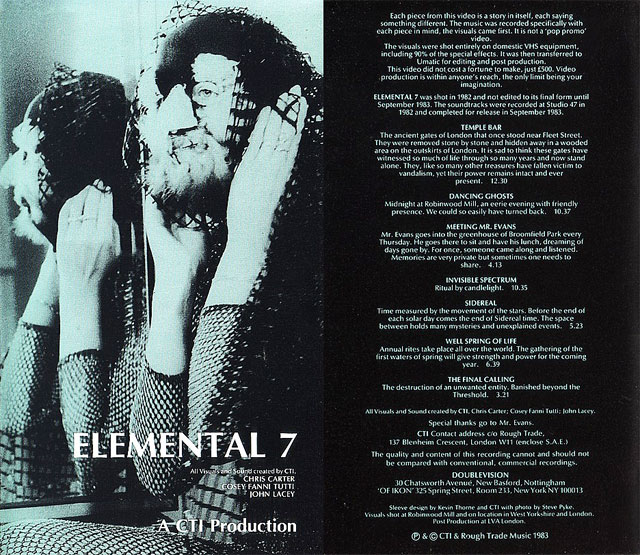 Elemental 7 (1983) by The CREATIVE TECHNOLOGY INSTITUT (CTI)