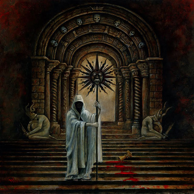 B. A. Vierling cover for Nightbringer 'Apocalypse Sun' (2010)