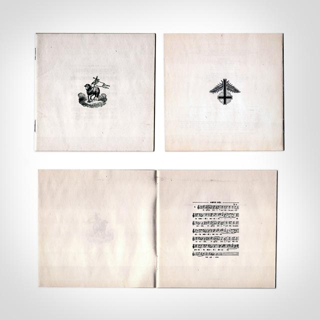 MI AMORE 'The Lamb, Psalms & Proverbs' (2005) livret 20 pages (front/cul/dedans début)