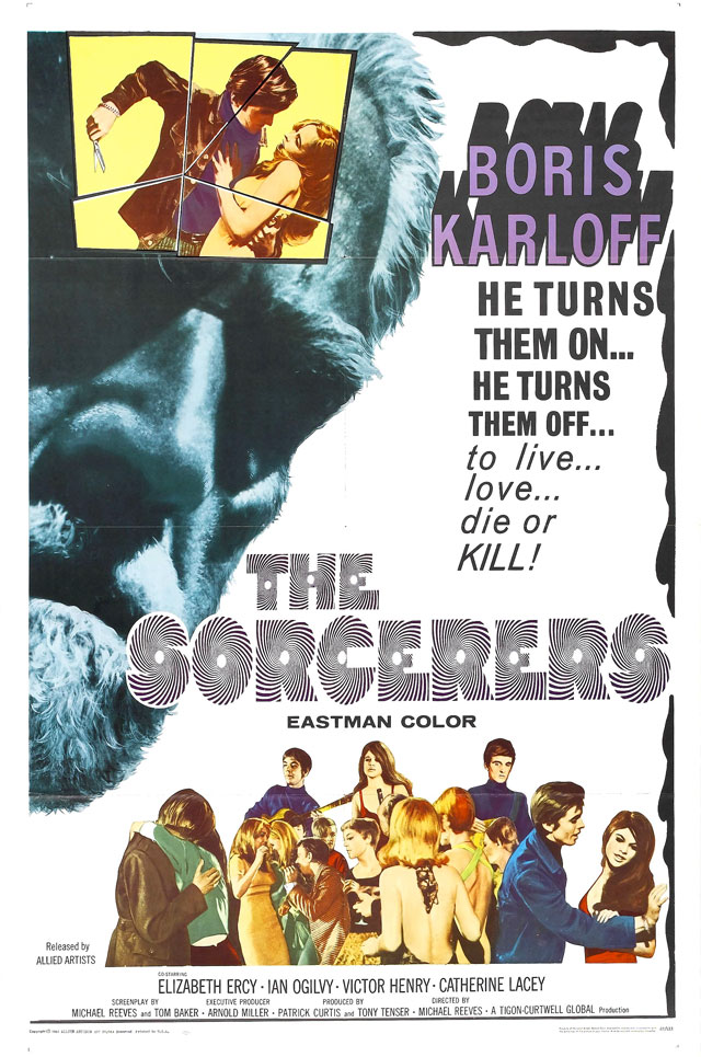 The Sorcerers (1967) by MICHAEL REEVES