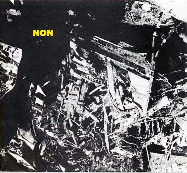 NON 'Mode Of Infection / Knife Ladder' (1979)