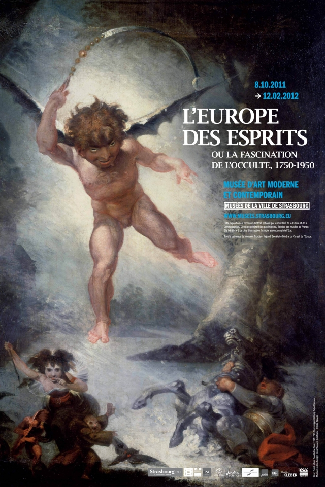 L'Europe des esprits ou la fascination de l'occulte, 1750-1950 au Musée d'Art moderne et contemporain de la Ville de Strasbourg
