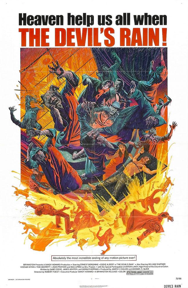 The Devil's Rain (1975) by ROBERT FUEST