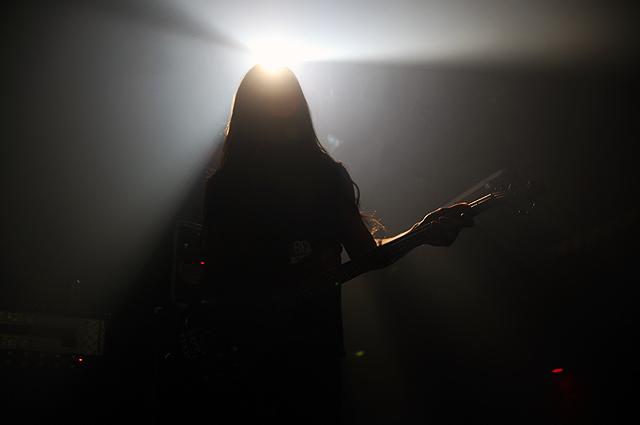 Jaune comme tes dents était au MARCH OF DEATH TOUR (Deicide, Jungle Rot, Abigail Williams & Lecherous Nocturne) le 4 mars 2012 aux Foufs, Montréal p.Q.