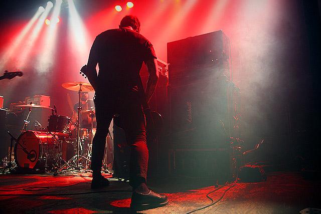 Jaune comme tes dents est allé voir Converge et Burning Love le 5 avril MMXII à La Tulipe, Montréal p.Q.