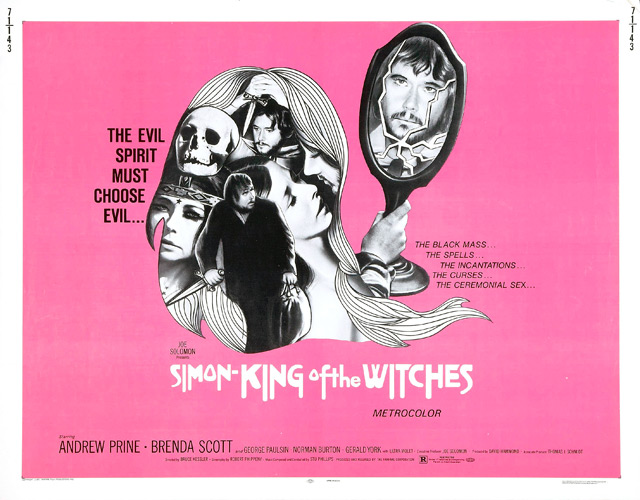 Simon King of Witches (1971) by BRUCE KESSLER
