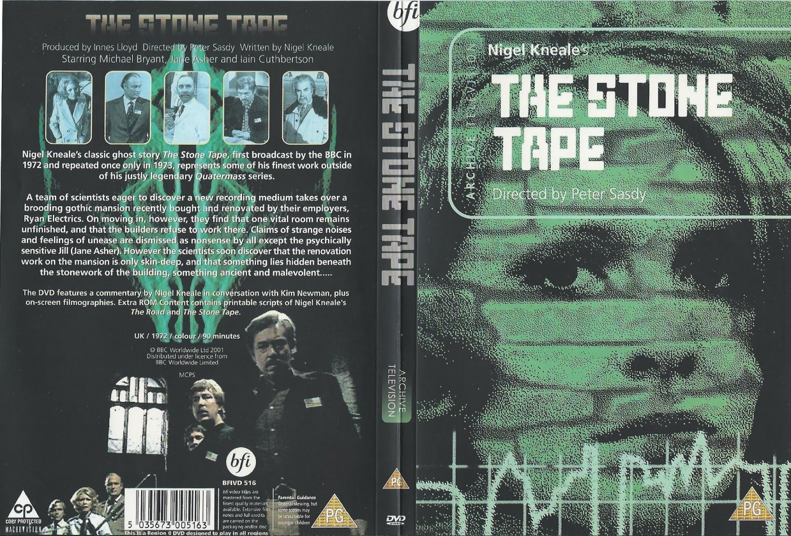 The Stone Tape (1972) by NIGEL KNEALE & PETER SASDY