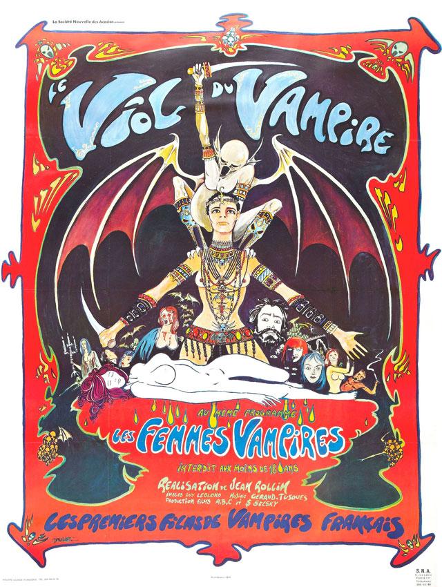 Le viol du vampire (1968) de JEAN ROLLIN