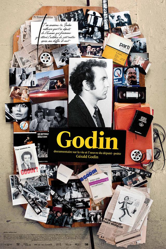 Affiche pour Godin, le film (2011) de SIMON BEAULIEU
