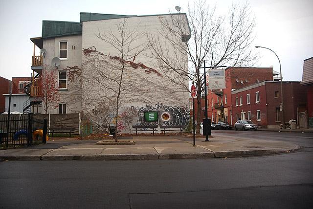 Art creux, onze novembre MMXII, St-Henri, Montréal p.Q.