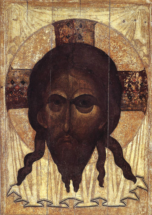 Mandylion (1360) by ANDREI RUBLEV