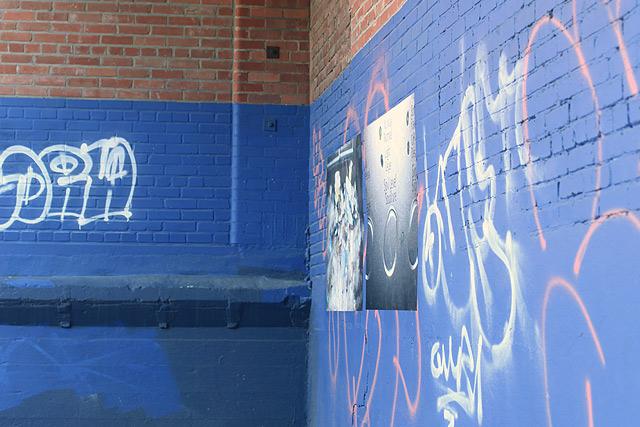 Art creux, seize juillet MMXIII, St-Henri, Montréal p.Q.