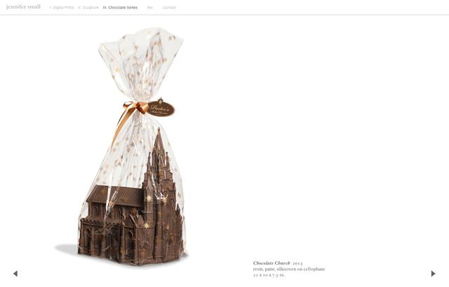 JENNIFER SMALL 'Chocolate Church' (2013)