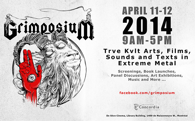 Grimposium: Trve Kvlt Arts, Films, Sounds and Texts in Extreme Metal