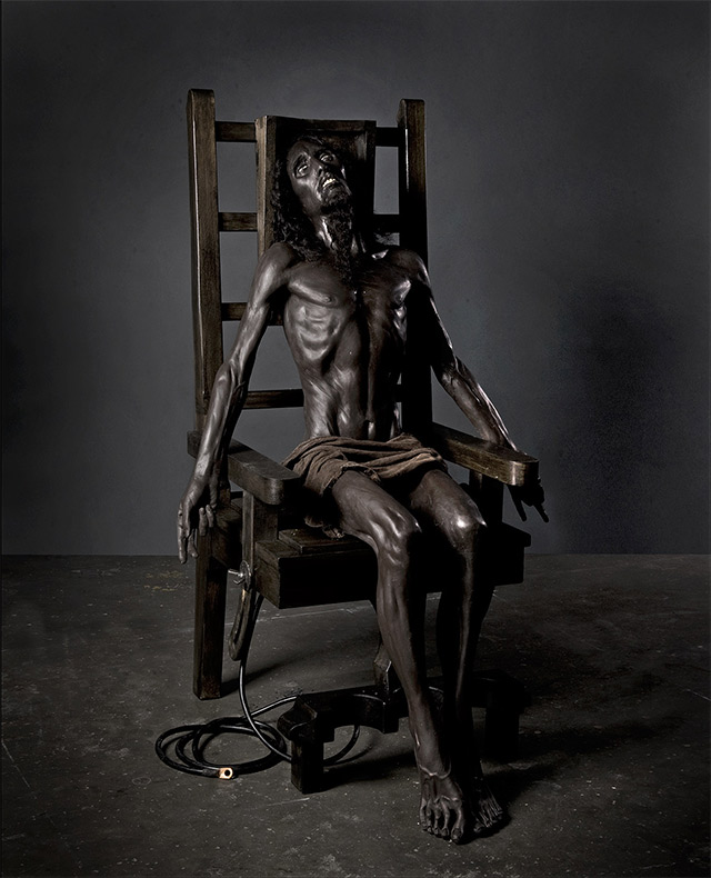 Black Pieta (2009) by PAUL FRYER