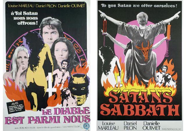 Le Diable est parmi nous / Satan's Sabbath (1972) by JEAN BEAUDIN