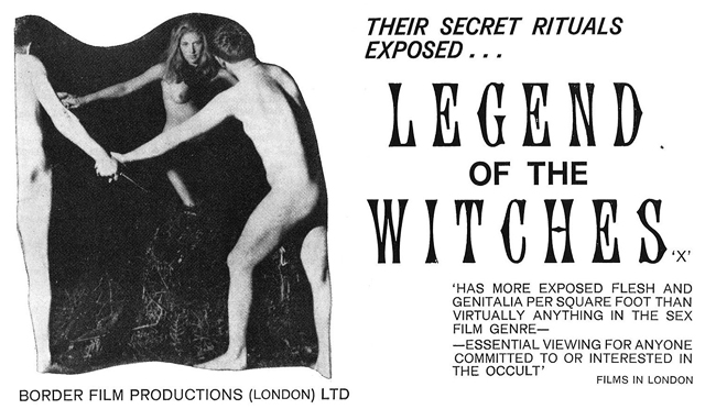 Legend Of The Witches (1970) by ALEX SANDERS