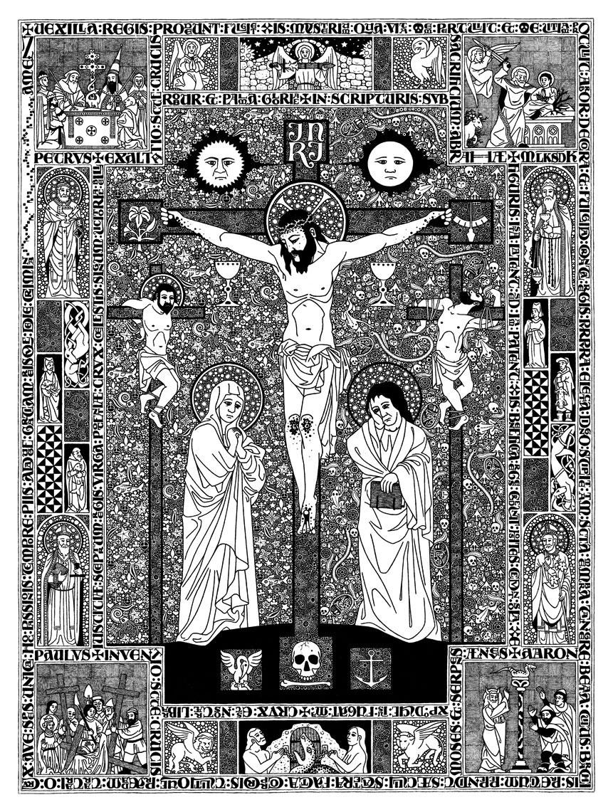 DANIEL MITSUI 'Crucifixion'
