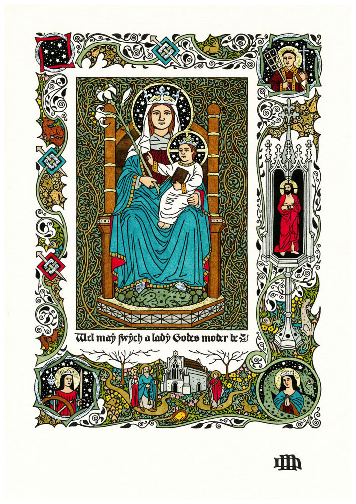 DANIEL MITSUI 'OUR LADY of WALSINGHAM'