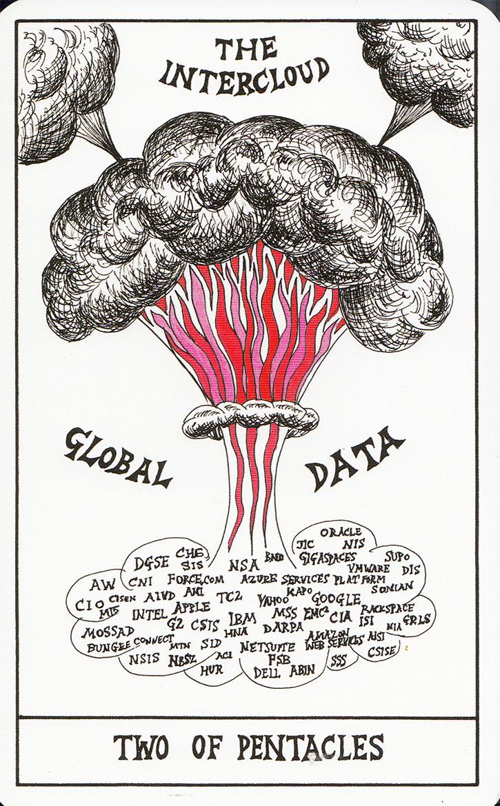 HEXEN 2.0 Tarot Cards (2009-11) by SUZANNE TREISTER