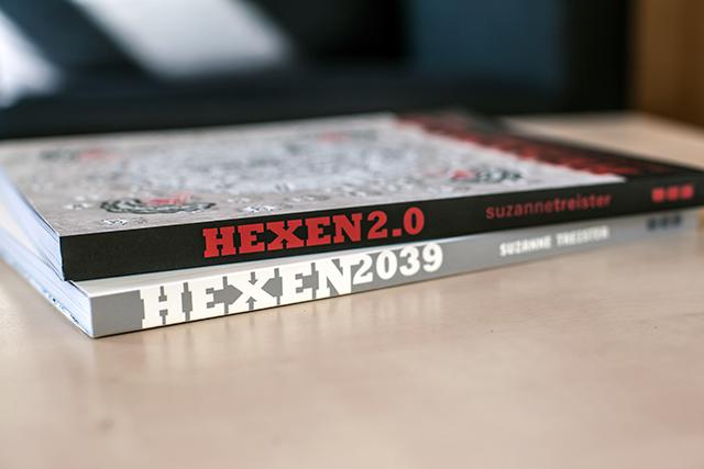 HEXEN 2039 (2006) & HEXEN 2.0 (2009-11) by SUZANNE TREISTER
