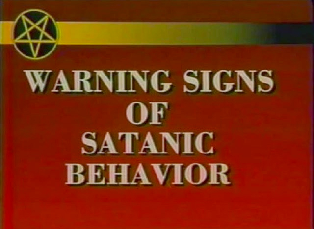 WARNING SIGNS OF SATANIC BEHAVIOR