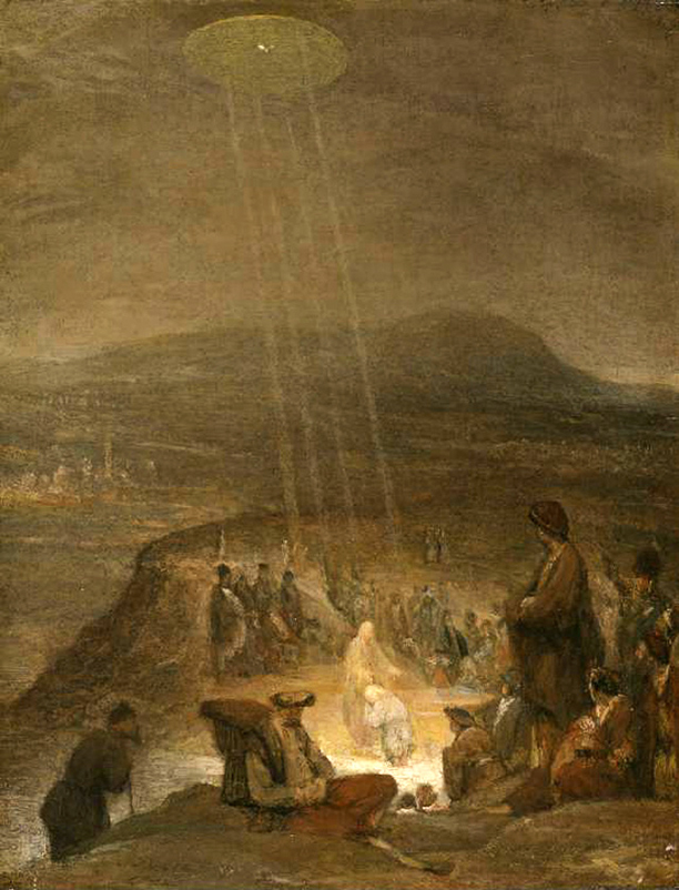 The Baptism of Christ (1710) by AERT DE GELDER