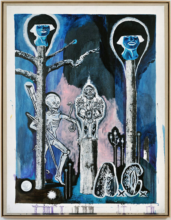 DAMIEN DEROUBAIX 'Afrika', 224 x 178 cm
