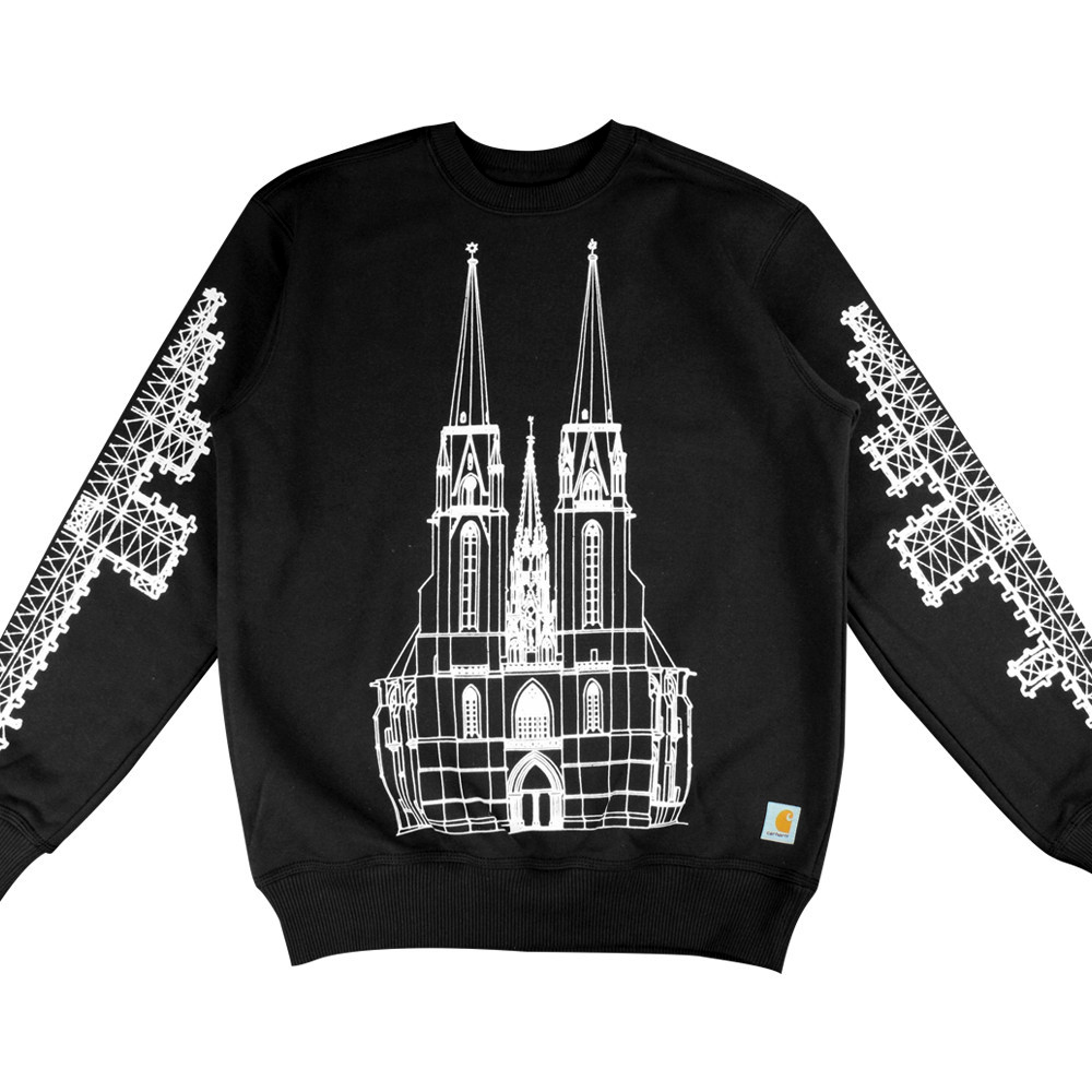 SANG BLEU 'CATHEDRAL CREWNECK' (LIMITED EDITION)