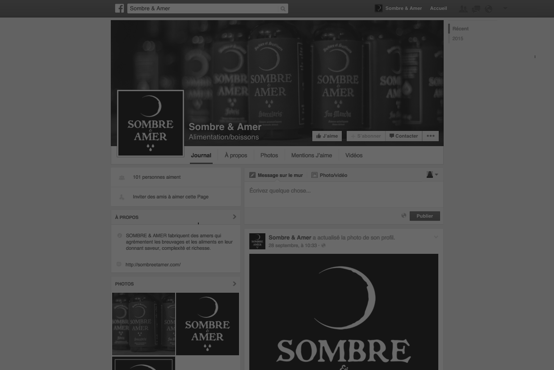 SOMBRE & AMER Facebook