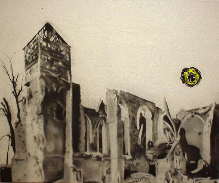 MARC SÉGUIN Étude pour cendres (2009)