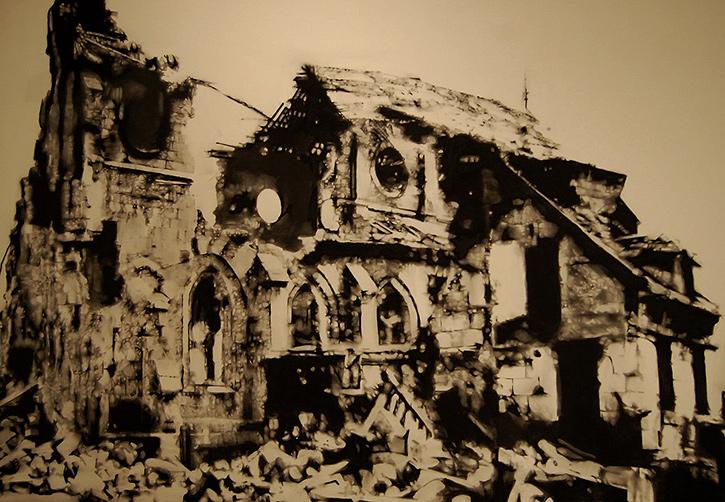 MARC SÉGUIN 'Ruin Church'