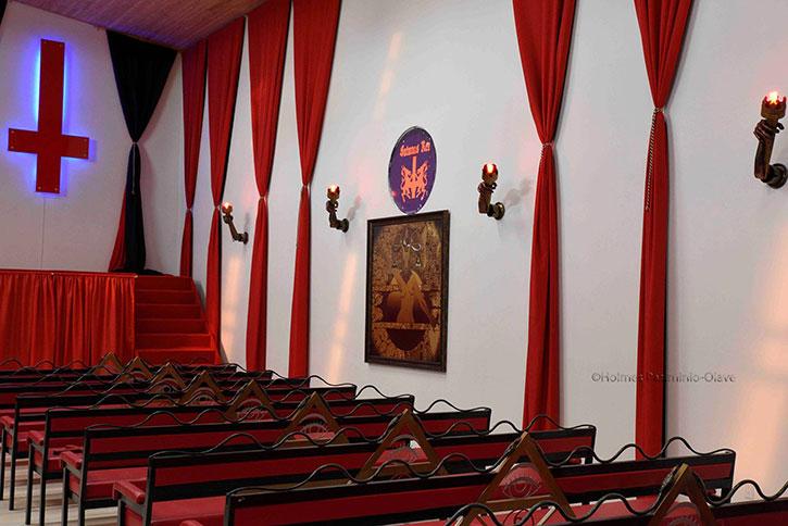 "Photos of the Satanic Church ""Iglesia Luciferina"" in Colombia by HOLMES PASIMINIO OLAVE"