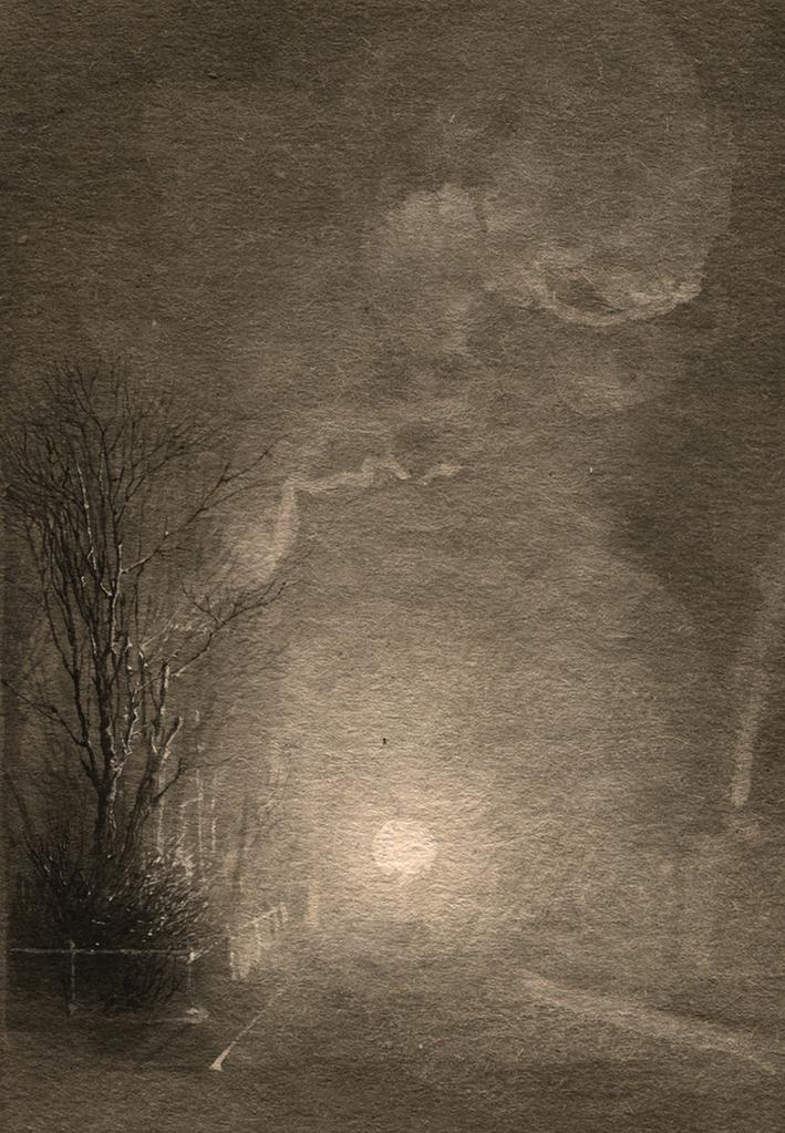 NATALIA SMIRNOVA 'sketch', sepia