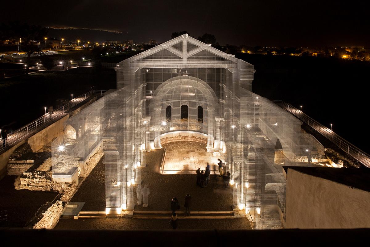Basilica di Diponto (2016) by EDOARDO TRESOLDI