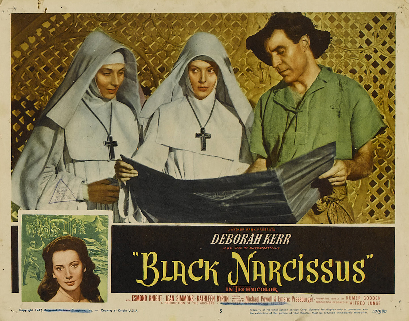 Black Narcissus (1947) by MICHAEL POWELL and EMERIC PRESSBURGER