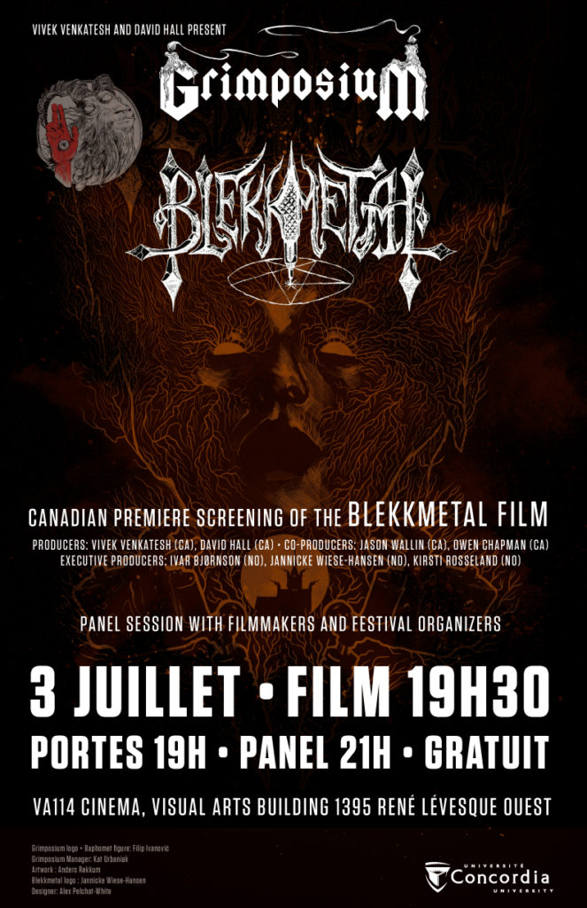 BLEKKMETAL - screening