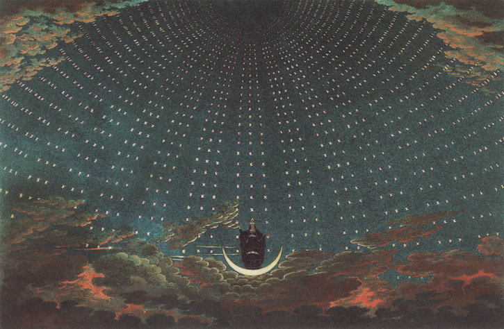 KARL FRIEDRICH THIELE 'The entrance of the queen of the night' (1819)