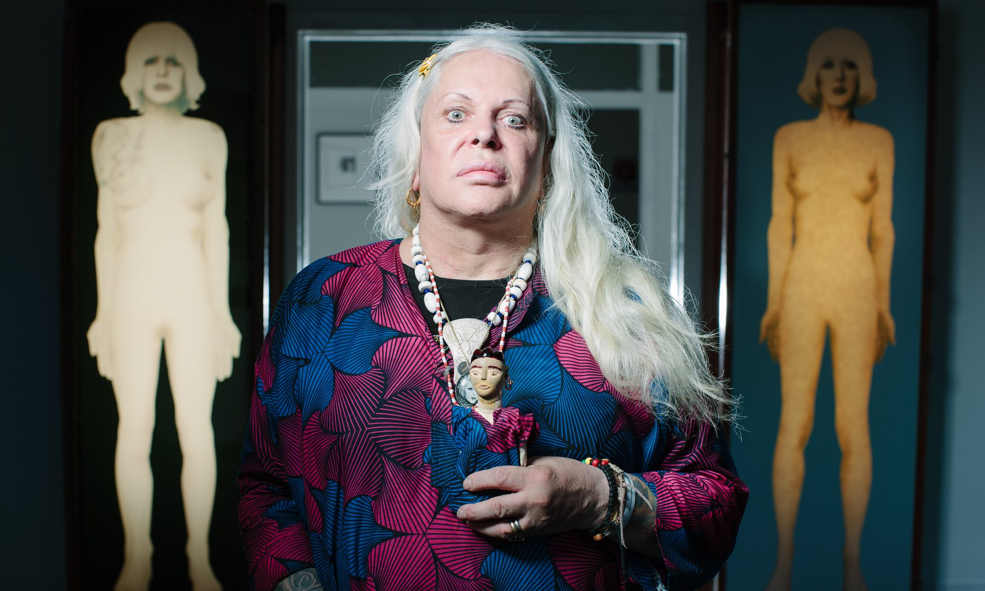 GENESIS BREYER P-ORRIDGE: a pandrogenous devotee of sex magick. Photograph: Peter Dibdin/Publicity image