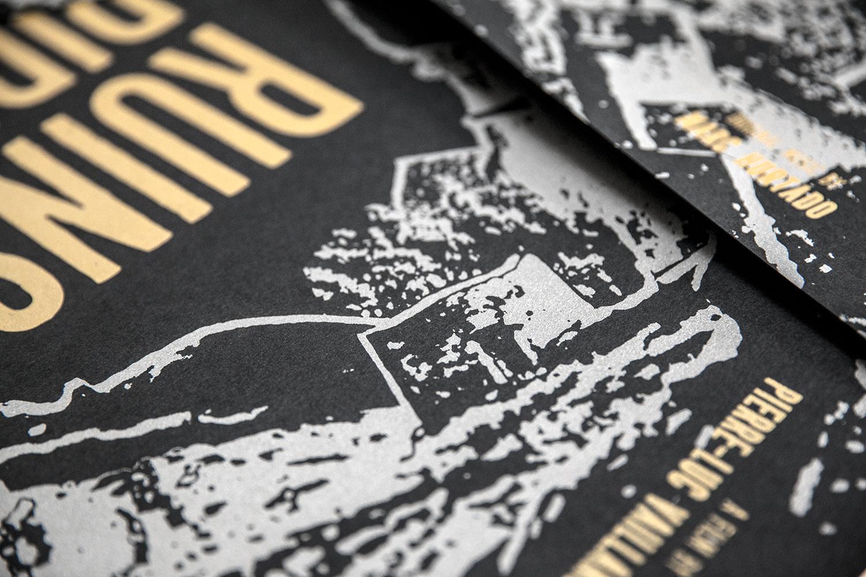 Affiche pour le film 'Ruins Rider' (2017) de PIERRE-LUC VAILLANCOURT