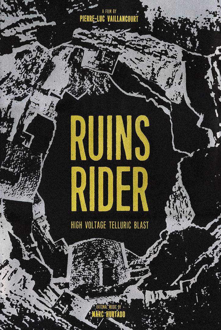 Ruins Rider (2017) by PIERRE-LUC VAILLANCOURT