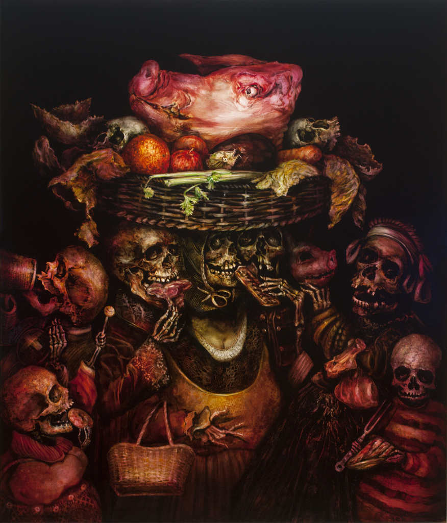 TERRY TAYLOR 'The Seven Deadly Sins' (2015) Gluttony