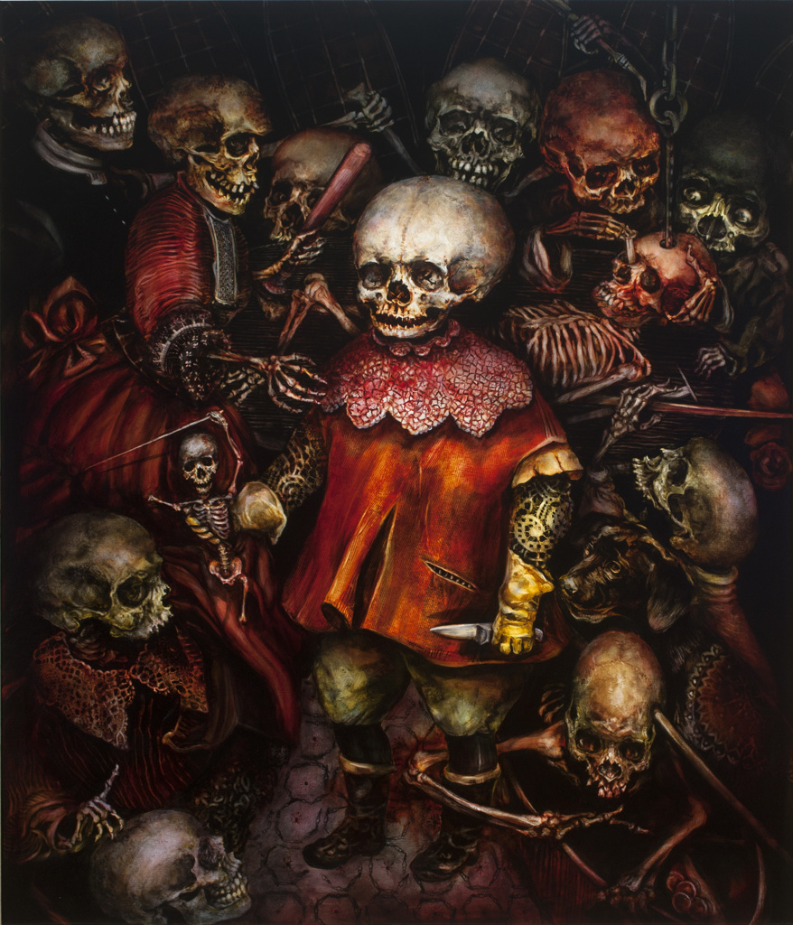 TERRY TAYLOR 'The Seven Deadly Sins' (2015) Wrath