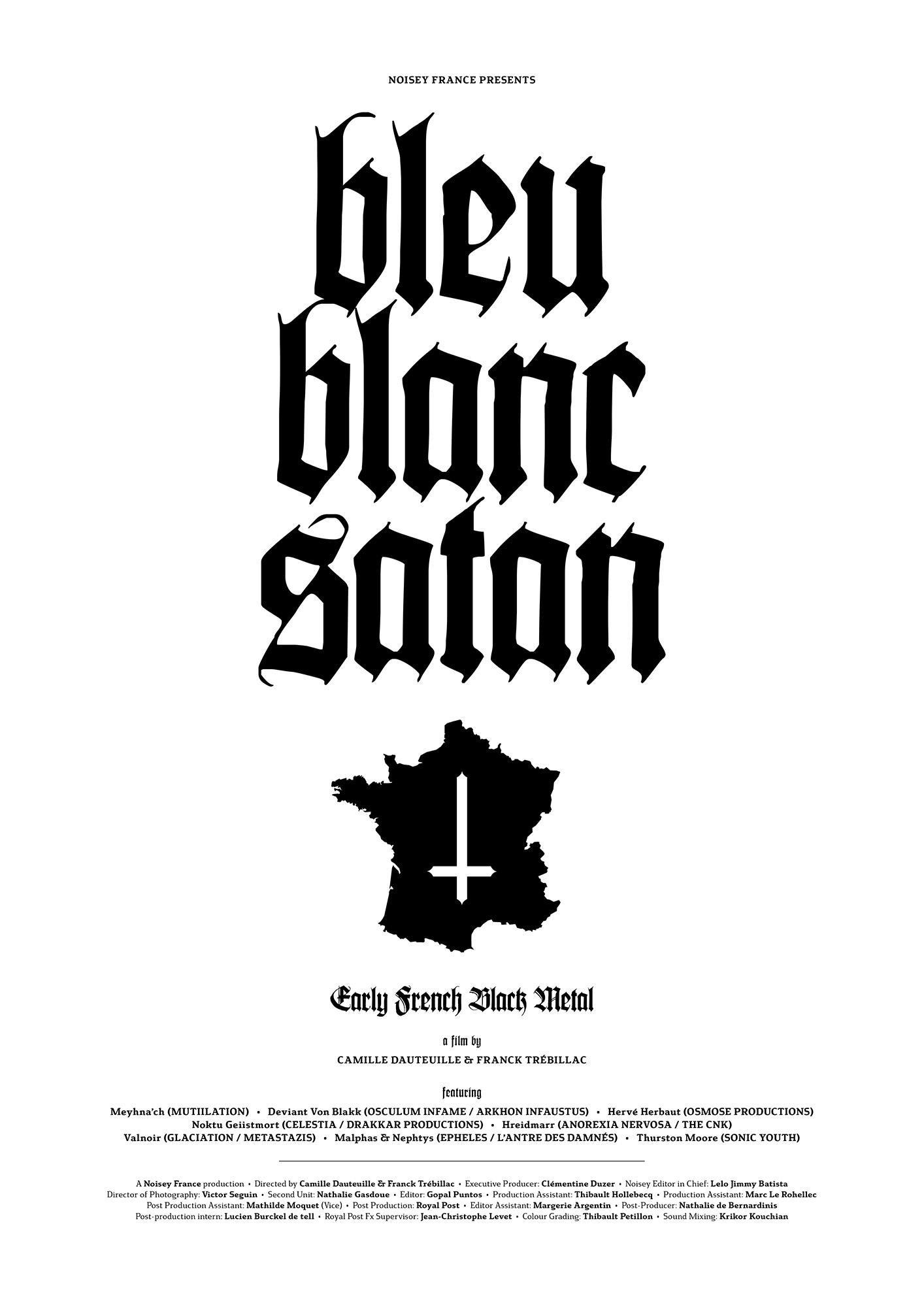 Bleu Blanc Satan (2016) de CAMILLE DAUTEUILLE et FRANCK TRÉBILLAC