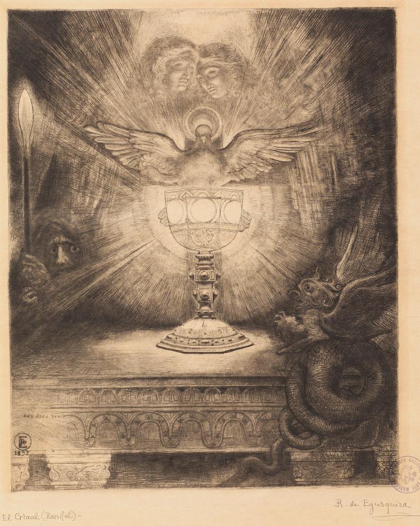El Graal (1893) ROGELIO DE EGUSQUIZA